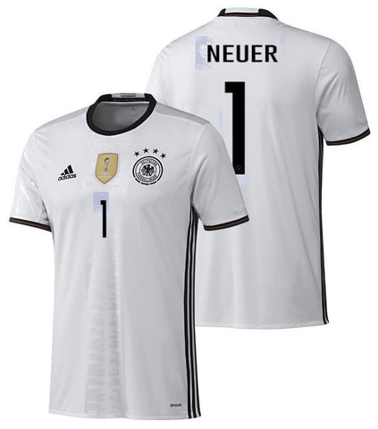 ADIDAS MANUEL NEUER GERMANY HOME JERSEY EURO 216 1