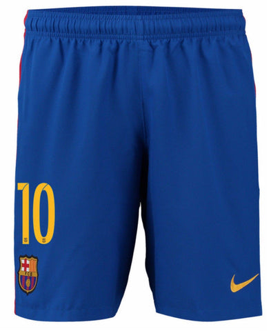 NIKE LIONEL MESSI FC BARCELONA HOME SHORTS 2016/17