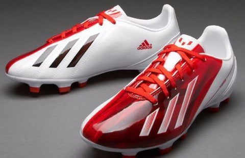 e142ecbdf ADIDAS MESSI F10 TRX FG FIRM GROUND SOCCER SHOES Red White ...