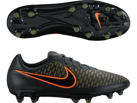 NIKE MAGISTA ONDA FG FIRM GROUND SOCCER SHOES Black/Rough Green/Black