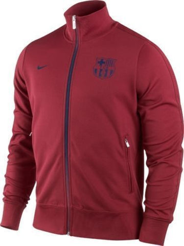 NIKE FC BARCELONA AUTHENTIC N98 TRACK JACKET Storm Red/Mid Navy 1