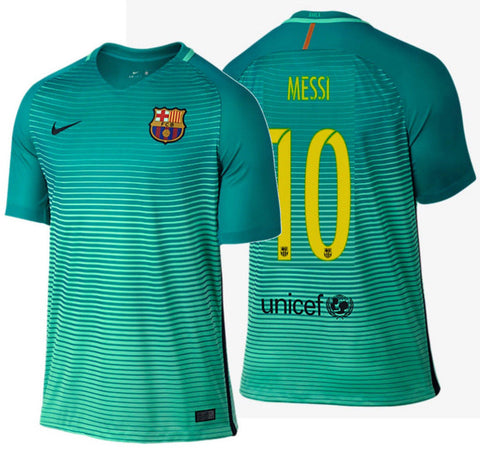 NIKE LIONEL MESSI FC BARCELONA THIRD JERSEY 2016/17.