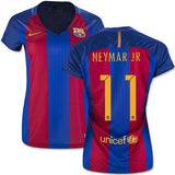 NIKE NEYMAR JR. FC BARCELONA WOMENS HOME JERSEY 2016/17