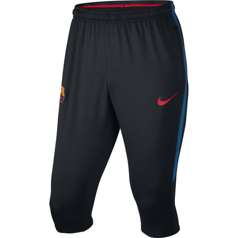 NIKE FC BARCELONA DRY SQUAD 3/4 TRAINING PANTS 2017/18.