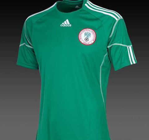 ADIDAS NIGERIA HOME JERSEY FIFA WORLD CUP 2010.