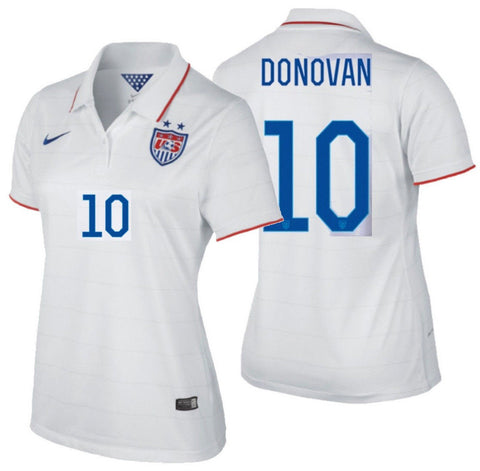 NIKE LANDON DONOVAN USA WOMEN'S HOME JERSEY USWNT FIFA WORLD CUP 2014