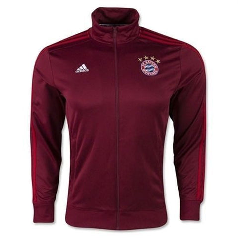 ADIDAS BAYERN MUNICH 3 STRIPES TRACK JACKET.