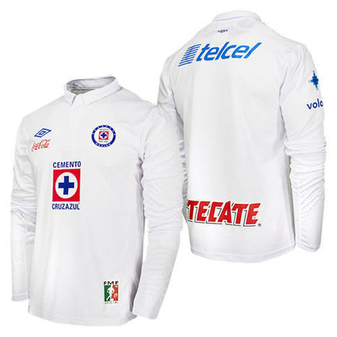 UMBRO CEMENTEROS CRUZ AZUL LONG SLEEVE AWAY JERSEY 2012/13