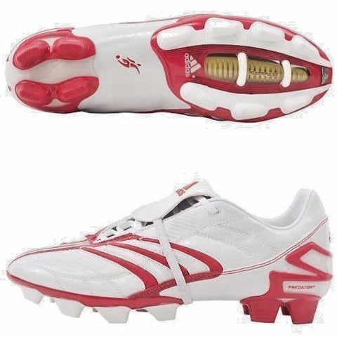 ADIDAS DAVID BECKHAM +PREDATOR ABSOLUTE TRX FG SOCCER SHOES White/Red.