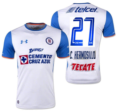 UA UNDER ARMOUR C. HERMOSILLO CEMENTEROS CRUZ AZUL AWAY JERSEY 2015/16