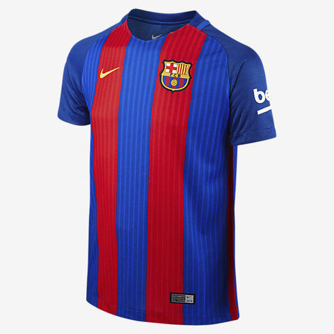 NIKE FC BARCELONA HOME YOUTH JERSEY 2016/17.