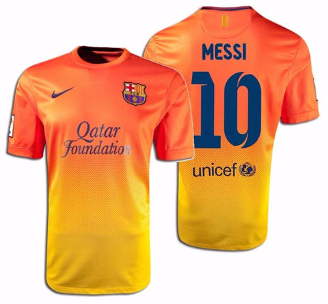 NIKE LIONEL MESSI FC BARCELONA AWAY JERSEY 2012/13.