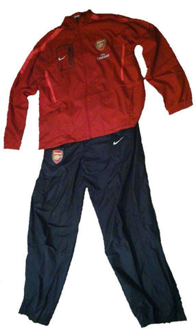 NIKE ARSENAL WOVEN TRACKSUIT PLAYER ISSUE Red/Navy.