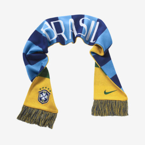 NIKE BRAZIL SUPPORTERS SCARF FIFA WORLD CUP 2014.