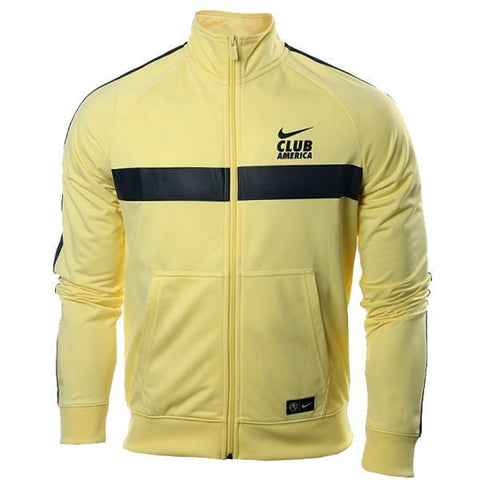 NIKE CLUB AMERICA TRAINING JACKET 2016/17 Lemon Chiffon.