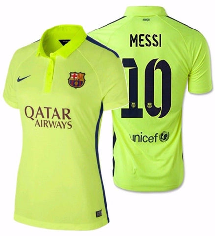 NIKE LIONEL MESSI FC BARCELONA WOMEN'S THIRD JERSEY 2014/15 1
