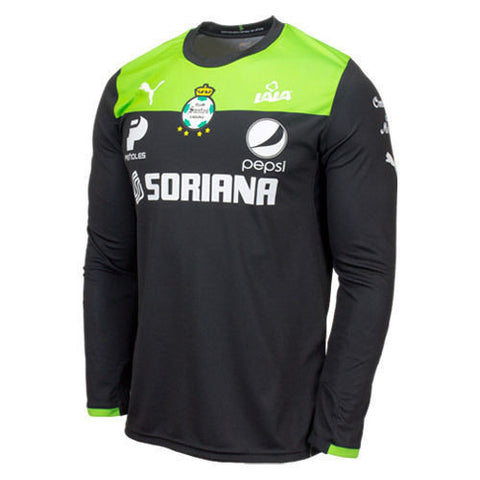 PUMA SANTOS LAGUNA GOALKEEPER JERSEY 2013 30th ANNIVERSARY Black/Green.