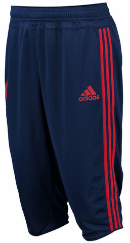Adidas Manchester United 3 4 Training Pants Blue Red