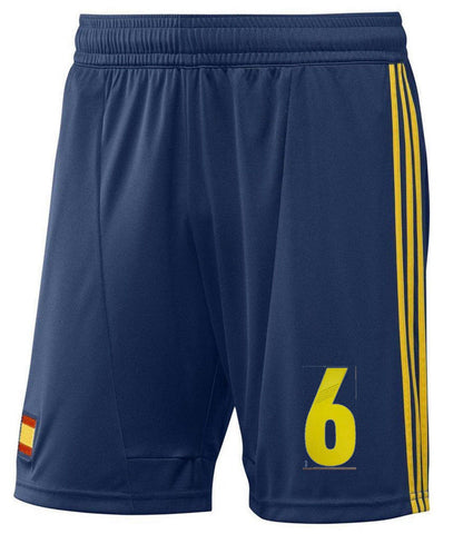 ADIDAS ANDRES INIESTA SPAIN GAME HOME SHORT 2013/14