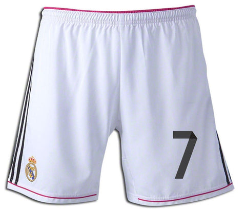 ADIDAS CRISTIANO RONALDO REAL MADRID HOME GAME SHORT 2014/15.