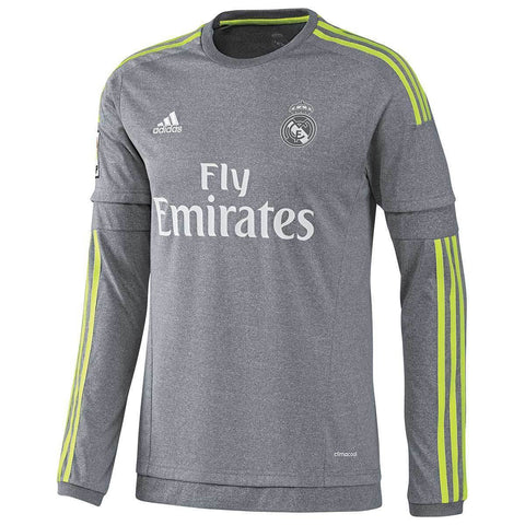 Adidas Real Madrid Long Sleeve Away Jersey 2015/16 S12686