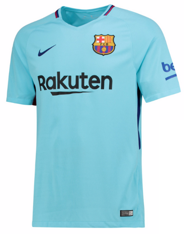 NIKE FC BARCELONA AWAY YOUTH JERSEY 2017/18.