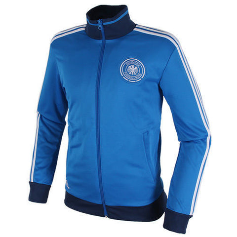 ADIDAS GERMANY TRACK TOP JACKET DEUTSCHER FUSSBALL BUND Blue.