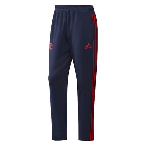 ADIDAS MANCHESTER UNITED TRAINING PANTS Navy/Red.