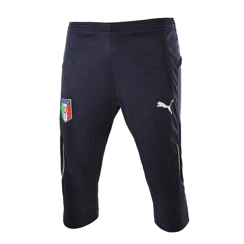PUMA ITALY 3/4 TRAINING PANTS Ebony/White.