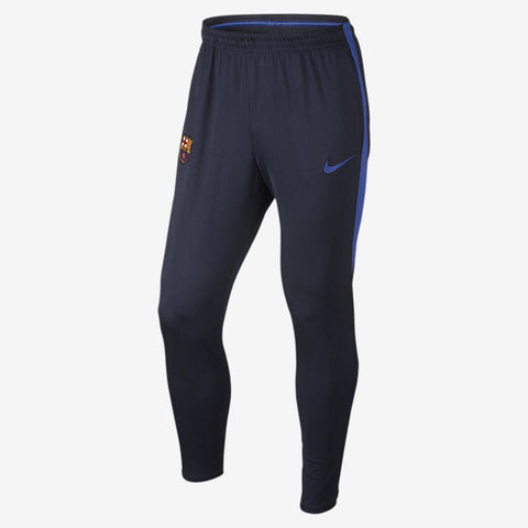 NIKE FC BARCELONA SQUAD TRAINING PANTS Obsidian/Game Royal.