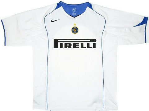 NIKE INTER MILAN AWAY JERSEY 2004/05.