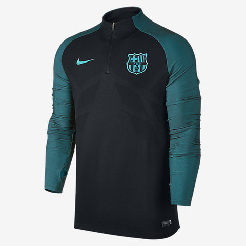 NIKE FC BARCELONA PLAYERS AEROSWIFT STRIKE DRILL TRAINING TOP 2016/17 1
