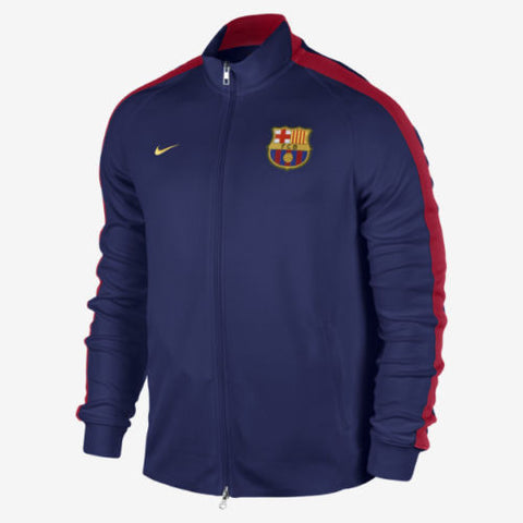 NIKE FC BARCELONA AUTHENTIC N98 TRACK JACKET Loyal Blue/Noble Red.