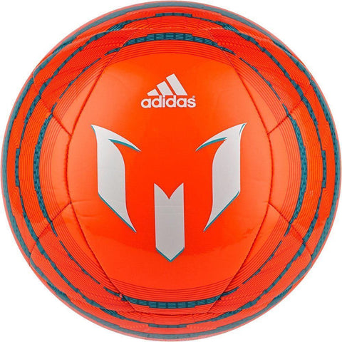 ADIDAS MESSI F50 SOCCER BALL SIZE 5 Solar Orange/Bold Orange/Power Teal