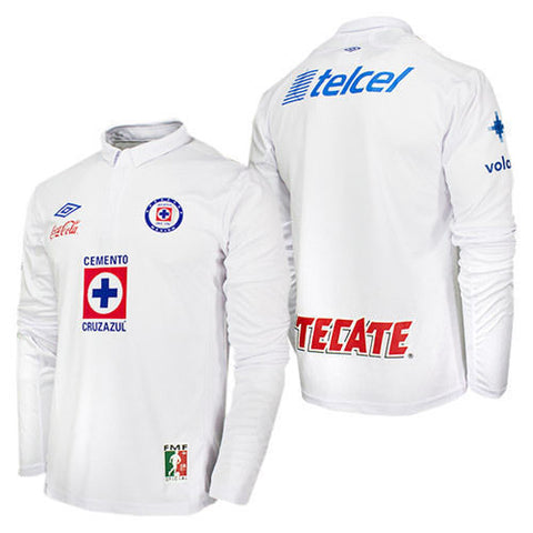 UMBRO CRUZ AZUL LONG SLEEVE AWAY JERSEY 2012/13 1