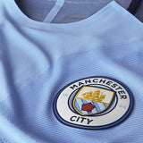 NIKE SERGIO KUN AGUERO MANCHESTER CITY UEFA CHAMPIONS LEAGUE AUTHENTIC VAPOR MATCH HOME JERSEY 2016/17 3