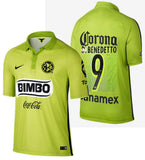NIKE D. BENEDETTO CLUB AMERICA THIRD JERSEY 2015.