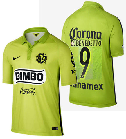 NIKE D. BENEDETTO CLUB AMERICA THIRD JERSEY 2015 1