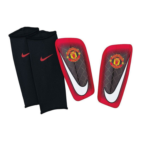 NIKE MANCHESTER UNITED MERCURIAL LITE SHINGUARD FOOTBALL SOCCER Red