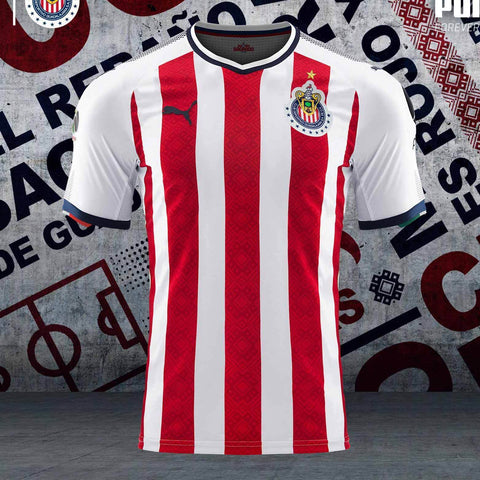 PUMA CHIVAS DE GUADALAJARA AUTHENTIC PLAYERS HOME JERSEY 2017/18.