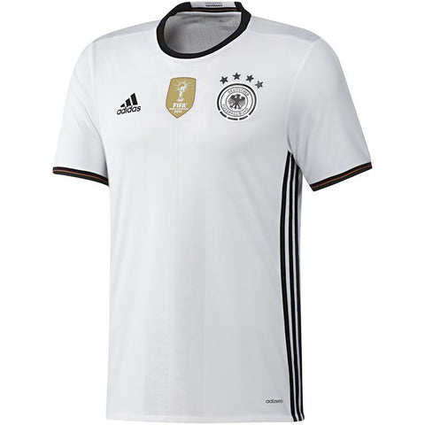 Adidas Germany Authentic Home Jersey 2016 AA0148