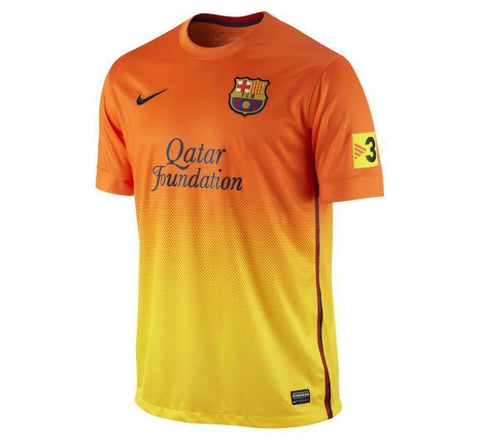newest collection c98b1 af646 NIKE LIONEL MESSI FC BARCELONA AWAY JERSEY 2012/13.