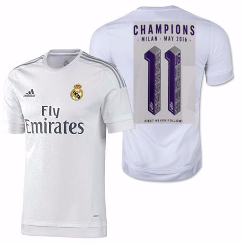ADIDAS REAL MADRID UNDECIMA UEFA CHAMPIONS LEAGUE JERSEY 2015/16.