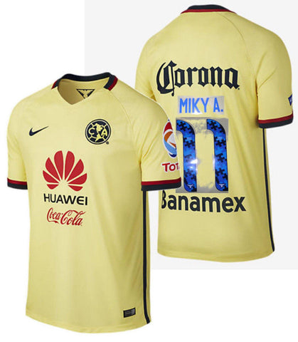 NIKE MIKY ARROYO CLUB AMERICA HOME JERSEY 2015/16 1