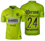 NIKE ORIBE PERALTA CLUB AMERICA AUTHENTIC MATCH THIRD JERSEY 2014/15