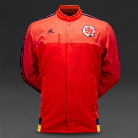 ADIDAS COLOMBIA ANTHEM JACKET Red/Navy