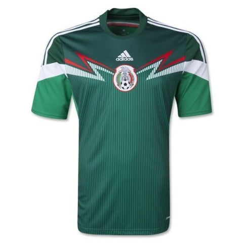 ADIDAS MEXICO YOUTH HOME JERSEY FIFA WORLD CUP BRAZIL 2014