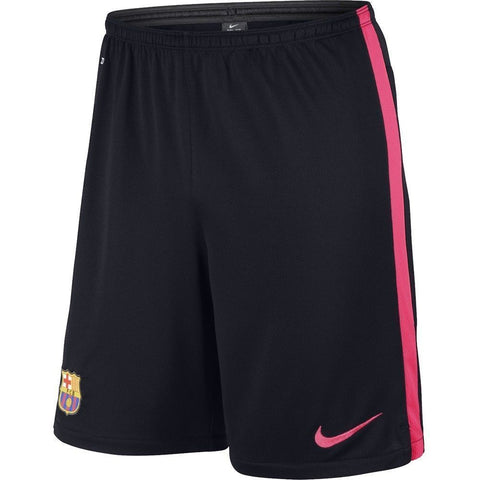 NIKE FC BARCELONA SQUAD LONGER KNIT TRAINING SHORT Obsidian