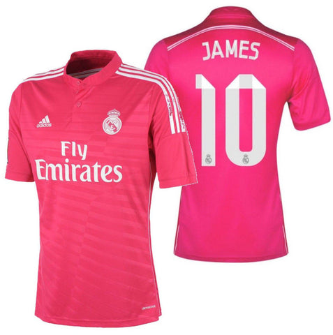 ADIDAS JAMES RODRIGUEZ REAL MADRID AWAY JERSEY 2014/15