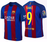 NIKE LUIS SUAREZ FC BARCELONA AUTHENTIC VAPOR MATCH HOME JERSEY 2016/17.